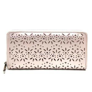 COACH Long Wallet (with Coin Compartment) Metallic